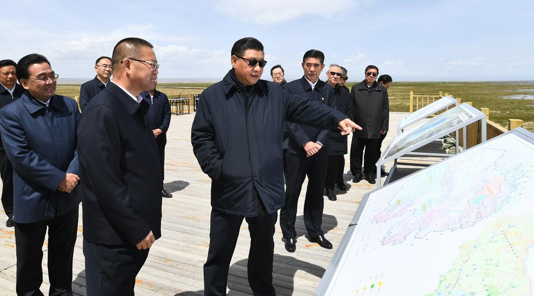 习近平在青海考察:坚持以人民为中心深化改革开放 深入推进青藏高原生态保护和高质量发展